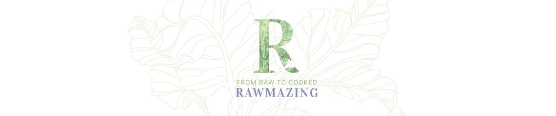 Logotipo de encabezado de Rawmazing