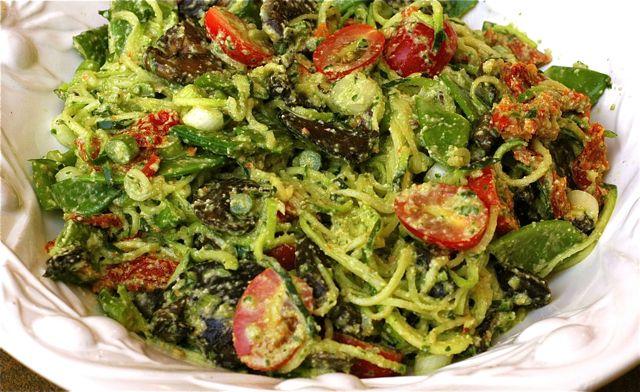 spinache-pasta