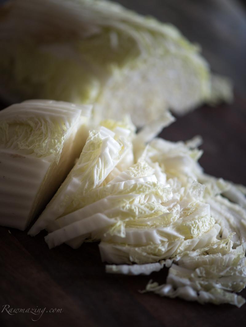 Asian Napa Salad @Rawmazing.com