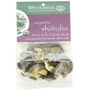 Organic Shiitake Mushrooms, Dried