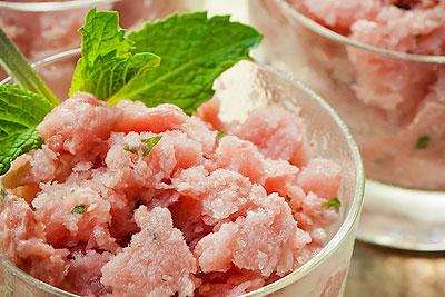 Strawberry Watermelon Mint Granita and E-book Sale!