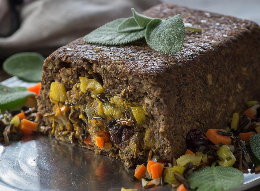 Thanksgiving Vegan Loaf
