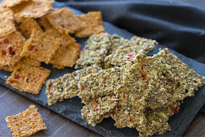Cruciferous Crackers (Raw)
