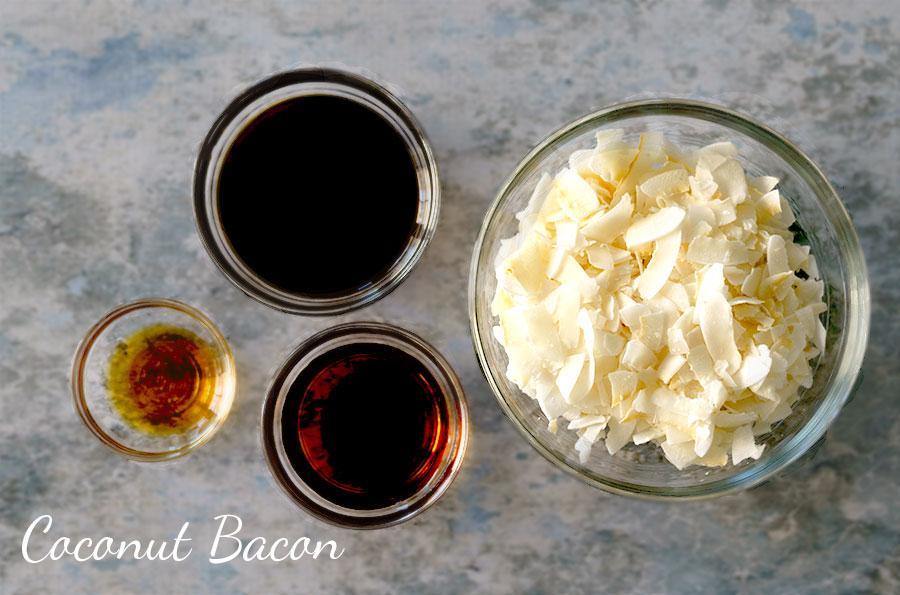 Coconut Bacon Ingredients